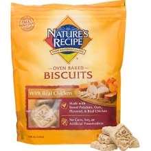 Nature's Recipe Voluntarily Recalls Nature's Recipe Oven Baked Biscuits With Real Chicken Due to Possible Salmonella Contamination
