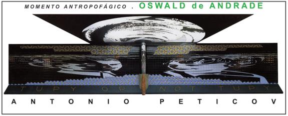 """""""Momento Antropofágico com Oswald de Andrade"""""""