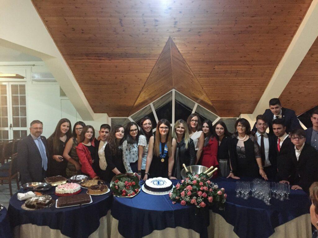 Cerimonia di passaggio per l'Interact di Petilia
