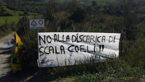 Discarica Scala Coeli, Legambiente: La regioni bocci l'ampliamento