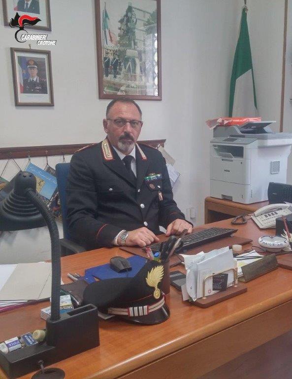 Cambio di guardia al Comando Stazione Carabinieri Petilia