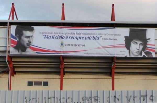 Ezio Scida e Rino Gaetano due icone storiche crotonesi
