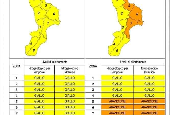 Allerta meteo prevista per domani, evacuate case a Crotone