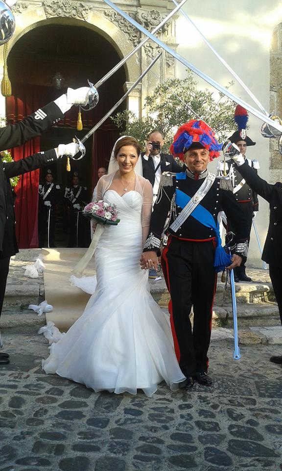 Il Capitano Claudio Martino è convolato a nozze