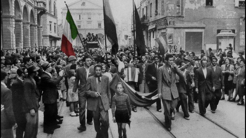 Anniversario della liberazione d'Italia, il Cerimoniale in Via Arringa