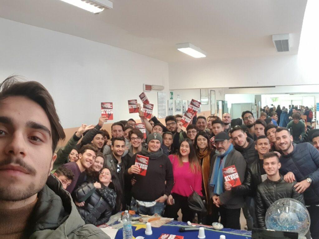 Pino Aprile incontra gli studenti del Ciliberto