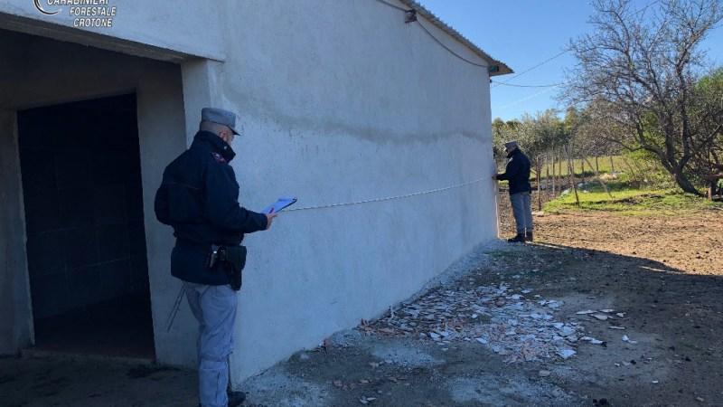 Comandante regionale dei Forestali in visita a Crotone