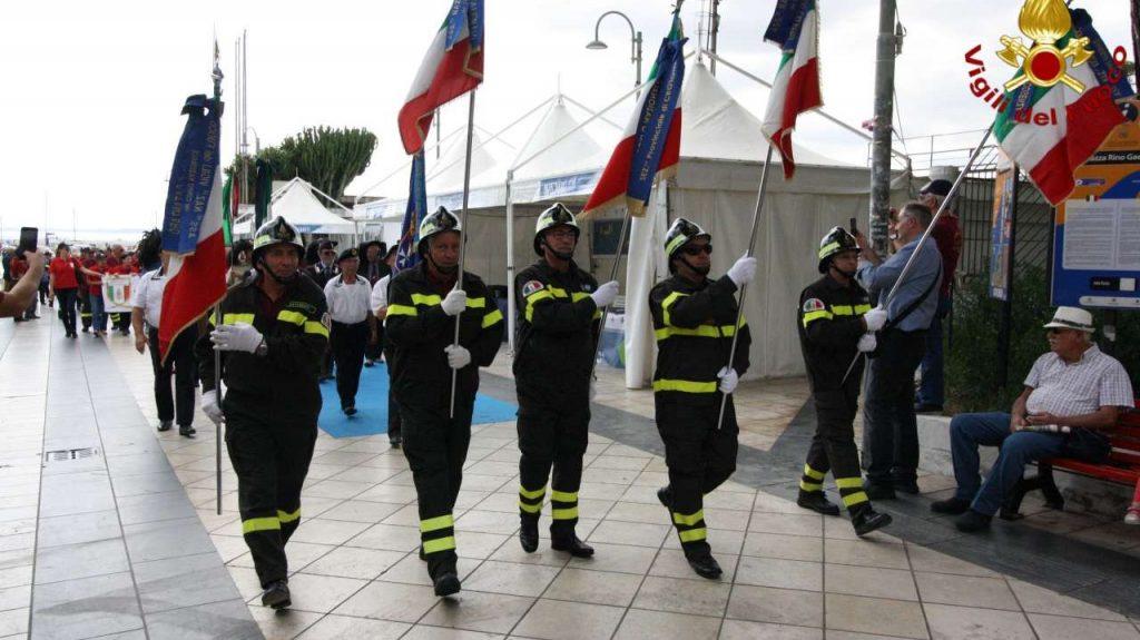 Raduno Regionale Associazione Nazionale Vigili del Fuoco a Crotone