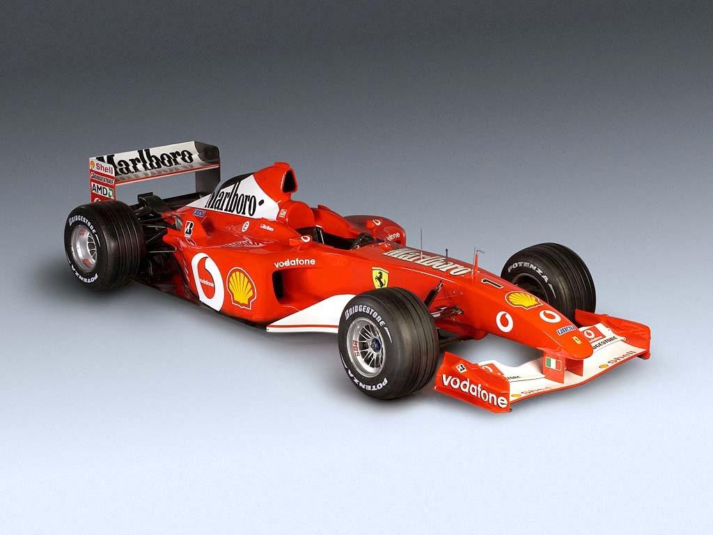 La Ferrari di Schumacher a Crotone il 27 giugno