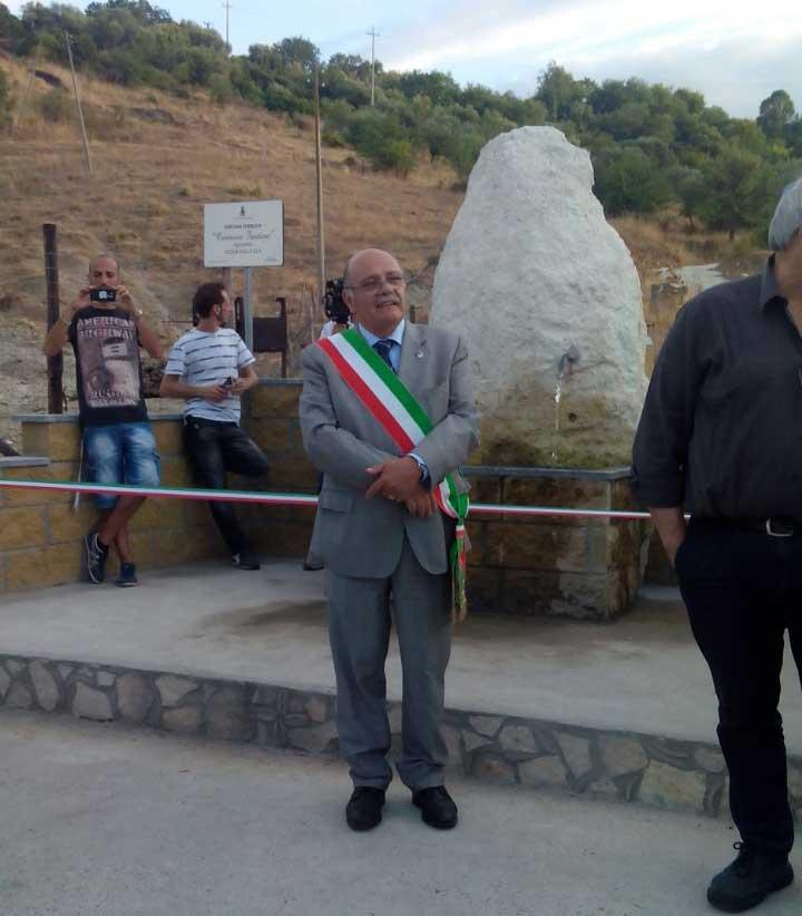 Inaugurazione fontana pubblica