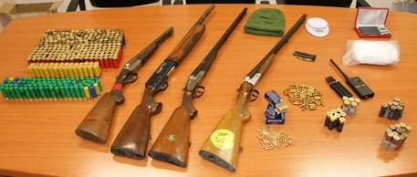 Armi e Droga in azienda agricola.
