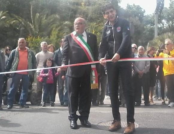 Inaugurazione strada Tracca