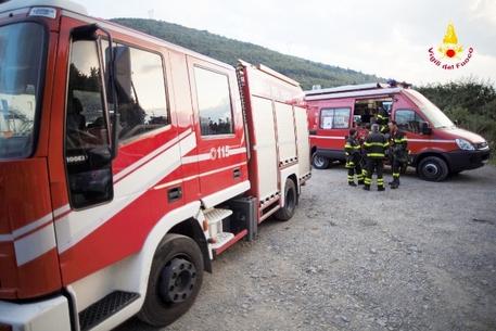Incendio a Villaggio Palumbo mette ko la seggiovia