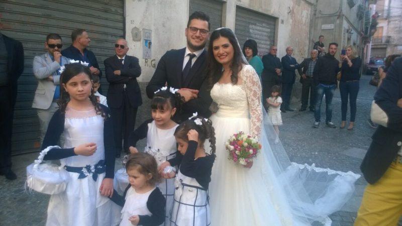 Oggi sposi: Gianluca Bruno ed Elisa Poerio