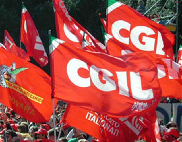 Conferenza stampa Cgil area vasta