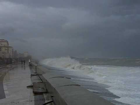 Forti disagi sulla costa jonica a causa del maltempo