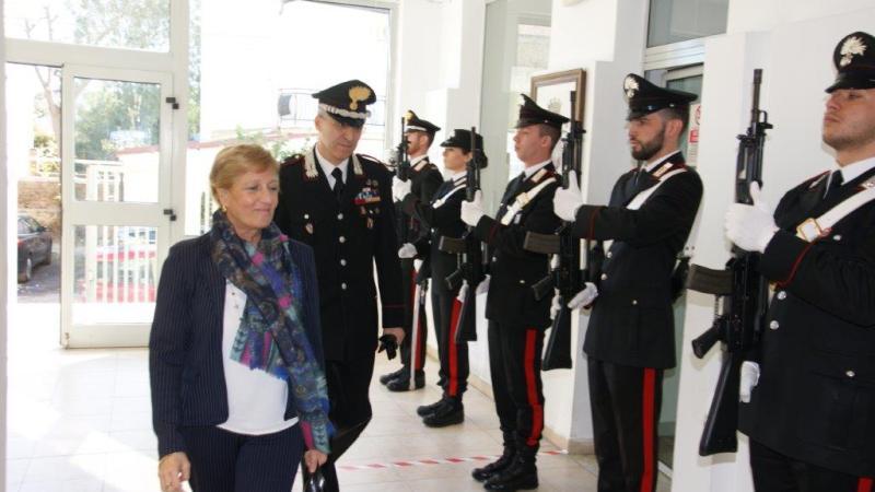 Prefetto di Crotone in visita al Comando Provinciale Carabinieri