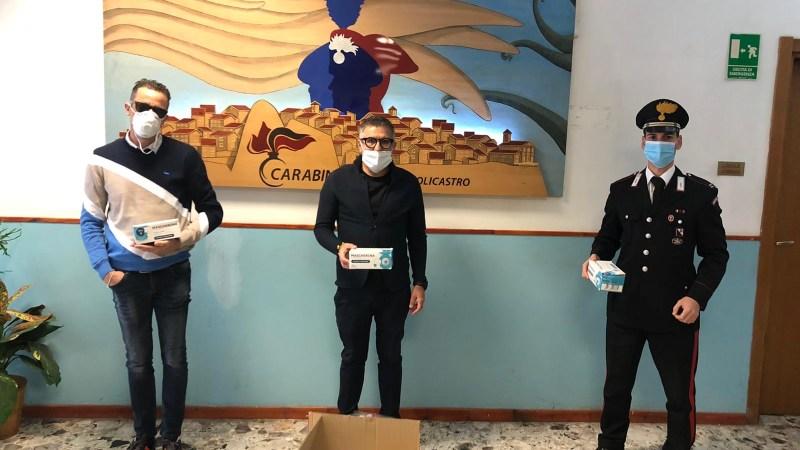 Emergenza Covid: Confartigianato Imprese Crotone dona mascherine ai Carabinieri di Petilia e di Cotronei