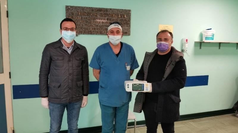 L'azienda Martica dona un macchinario all'ospedale di Crotone