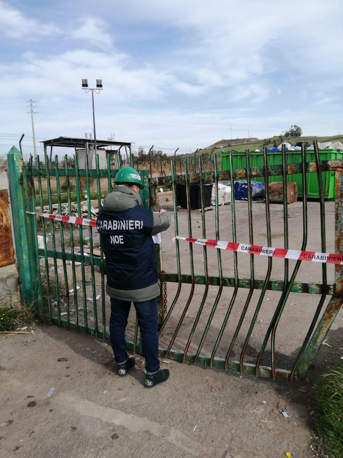 Violazione ambientale in centro raccolta rifiuti a San Leonardo