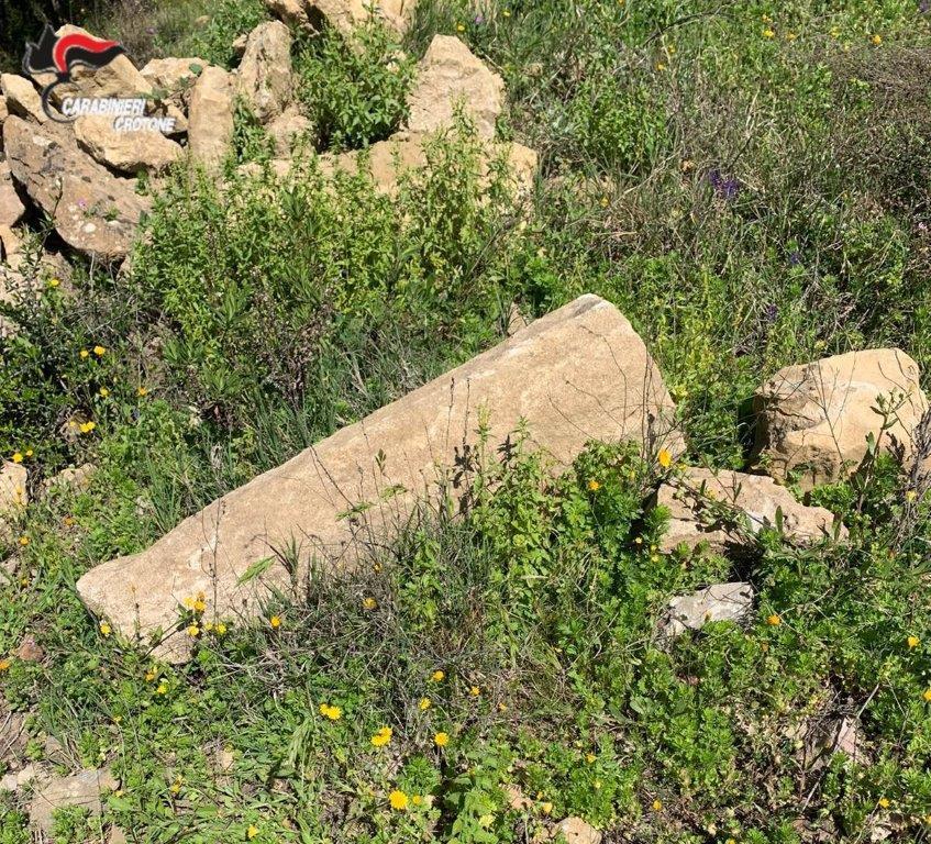 Trovato dai Carabinieri sito di epoca greca