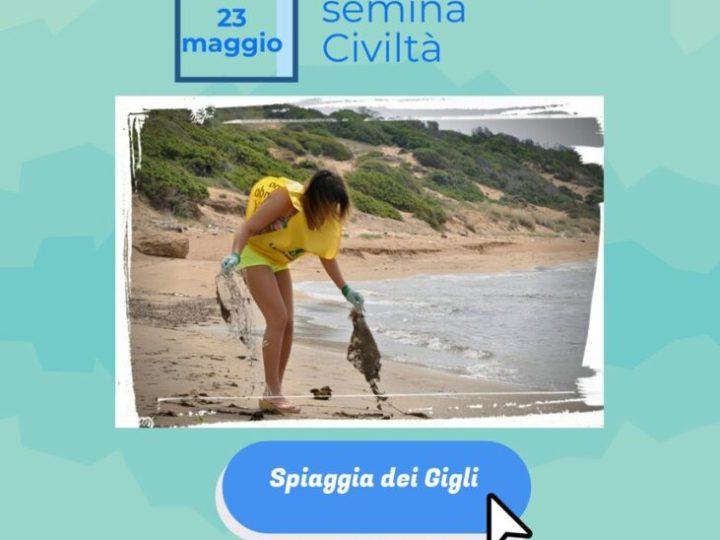 Legambiente Valle Tacina a Sovereto per Spiagge e fondali puliti