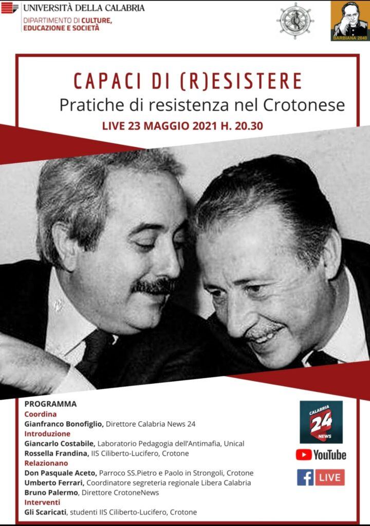 Unical, Barbiana 2040 e Istituto Ciliberto di Crotone organizzano un percorso digitale per studiare la Calabria che r-esiste alle mafie
