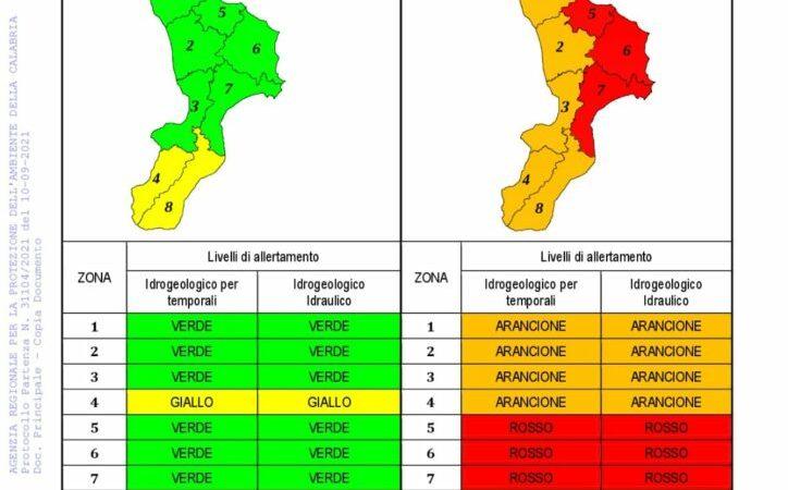 Allerta meteo: Solo spostamenti necessari e urgenti nel Comune di Petilia