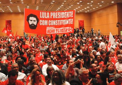 Lançamento Lula Presidente em Contagem/MG (08/junho)