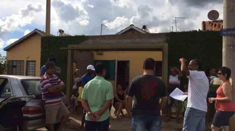 Reunião discute associação de moradores