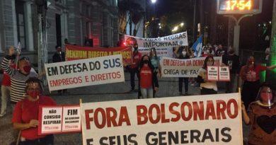 Ato Fora Bolsonaro em Juiz de Fora/MG