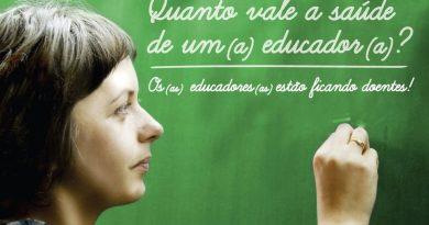 Quanto vale a saúde de um educador?