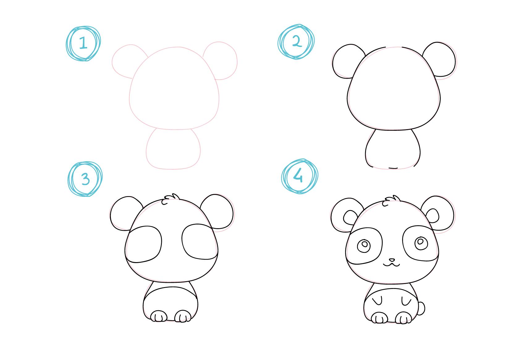Disegni Da Colorare Per Bambini A Tema Kawaii Gatto