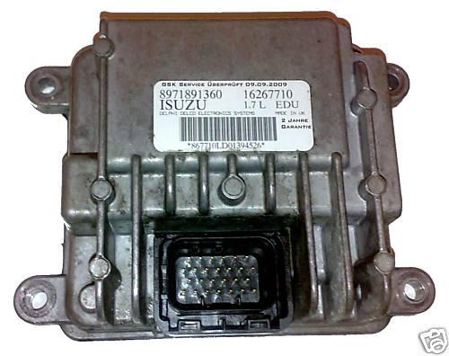 Calculateurmodule de pompe injection opel 17