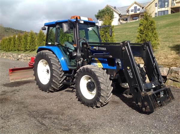 Tracteur New Holland TL100