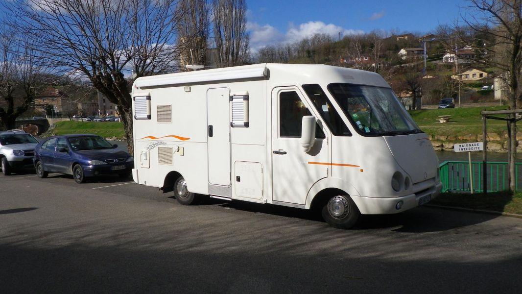 Camping car integral Notin