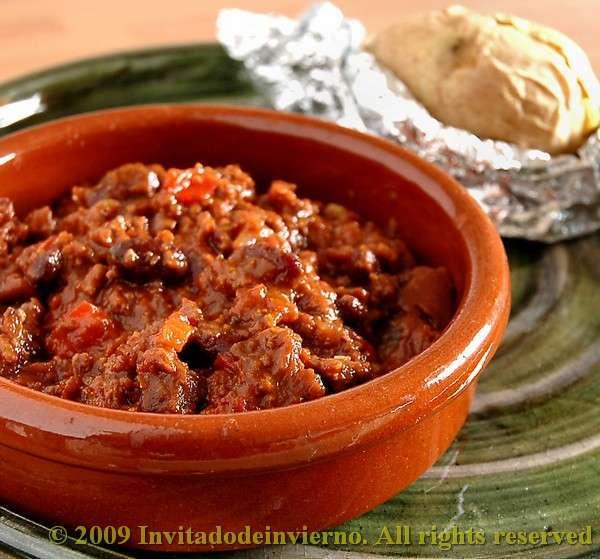 Chile con carne y chocolate Receta Petitchef