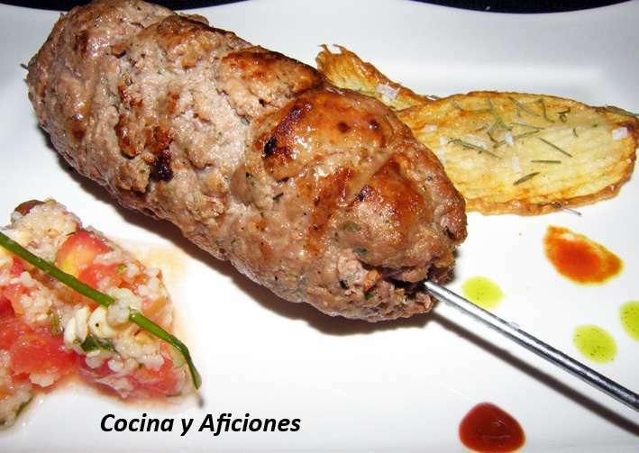 Kebabs sefard con adobo turco Receta Petitchef
