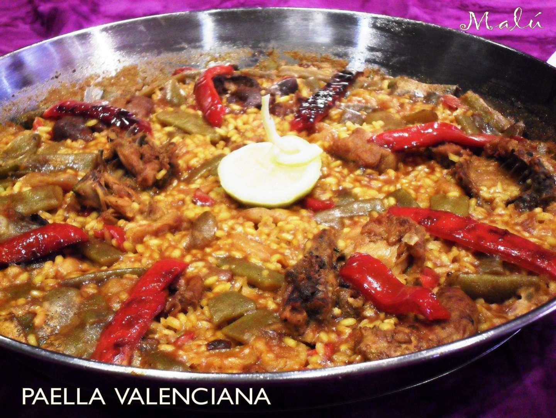 Paella valenciana Receta Petitchef