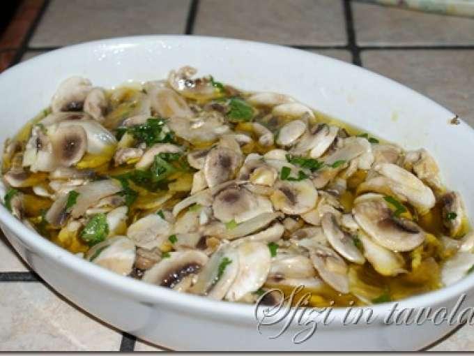 Funghi champignon allinsalata Ricetta Petitchef