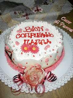 La torta di compleanno per la mamma  Ricetta Petitchef