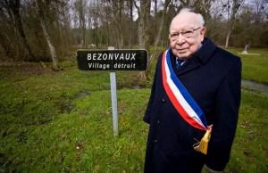 bezonveaux, mort pour la France