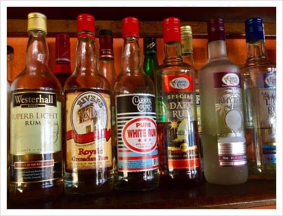 grenada rum tasting session