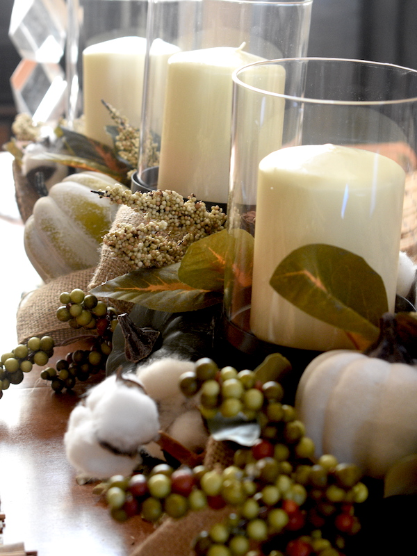 Fall Dining Table Centerpiece Ideas