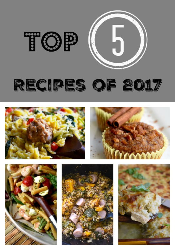 Top 5 Recipes of 2017 on Petite Chef Blog | PETITECHEFBLOG.COM