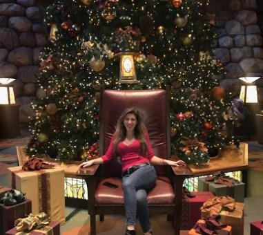 Disney's Grand California Hotel …Holiday style!! :)