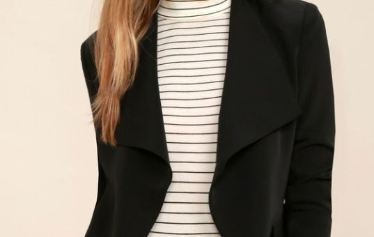 Blazers…the coat that can dress up any simple look!