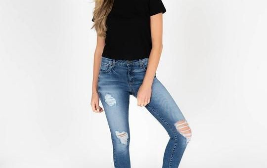 Emma Ripped Skinny Jeans!