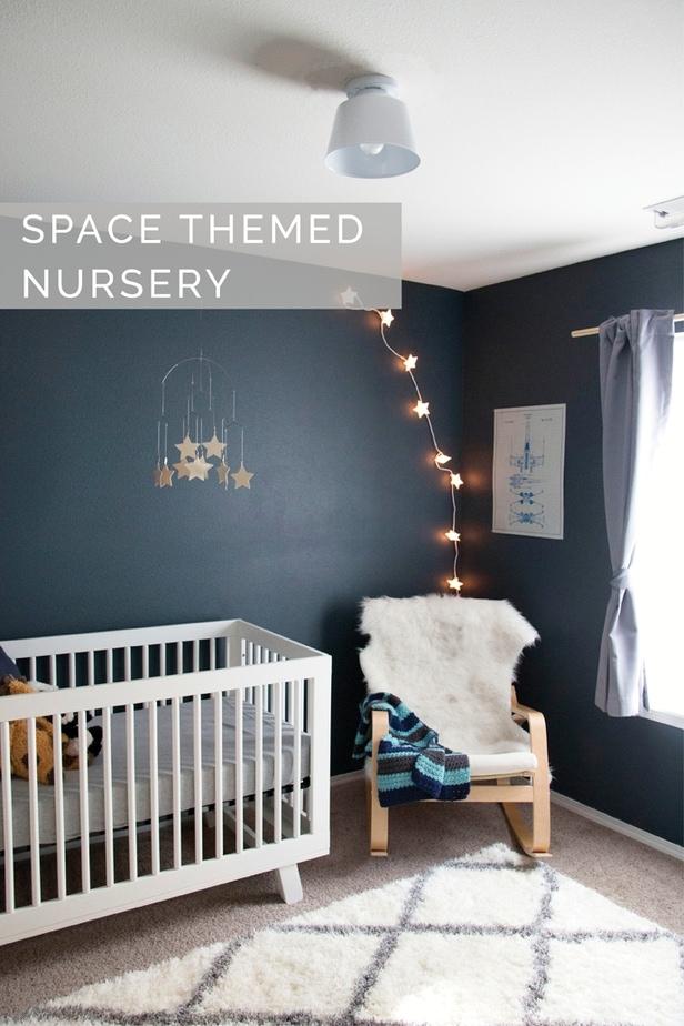 Space Themed Nursery  Petite Modern Life