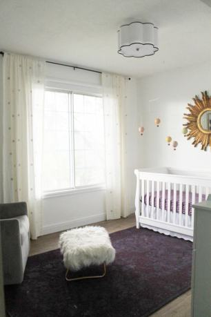 Neutral Modern Nurseries as part of Nursery Week on Petitemodernlife.com